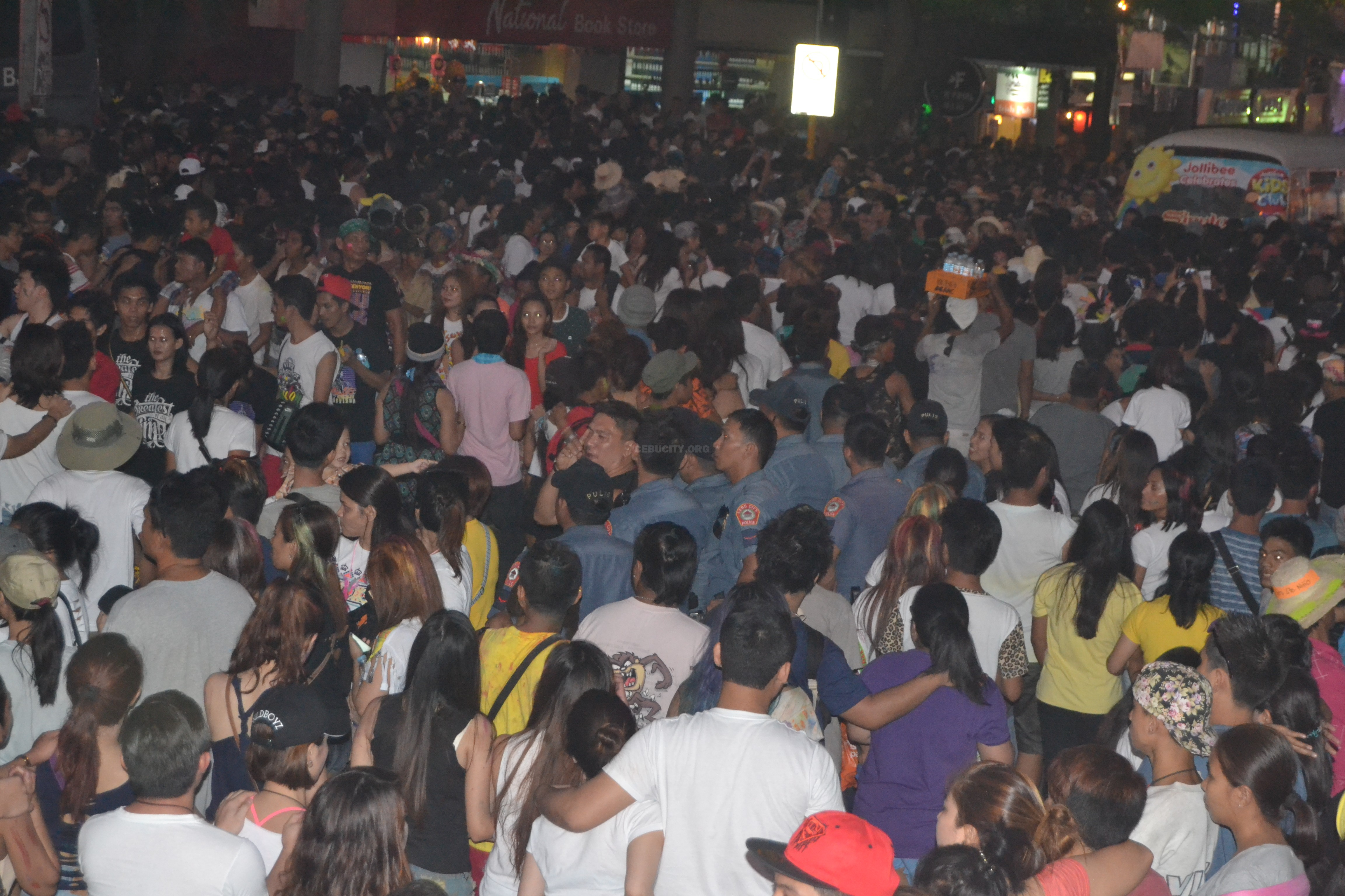 deadly sinulog crowd