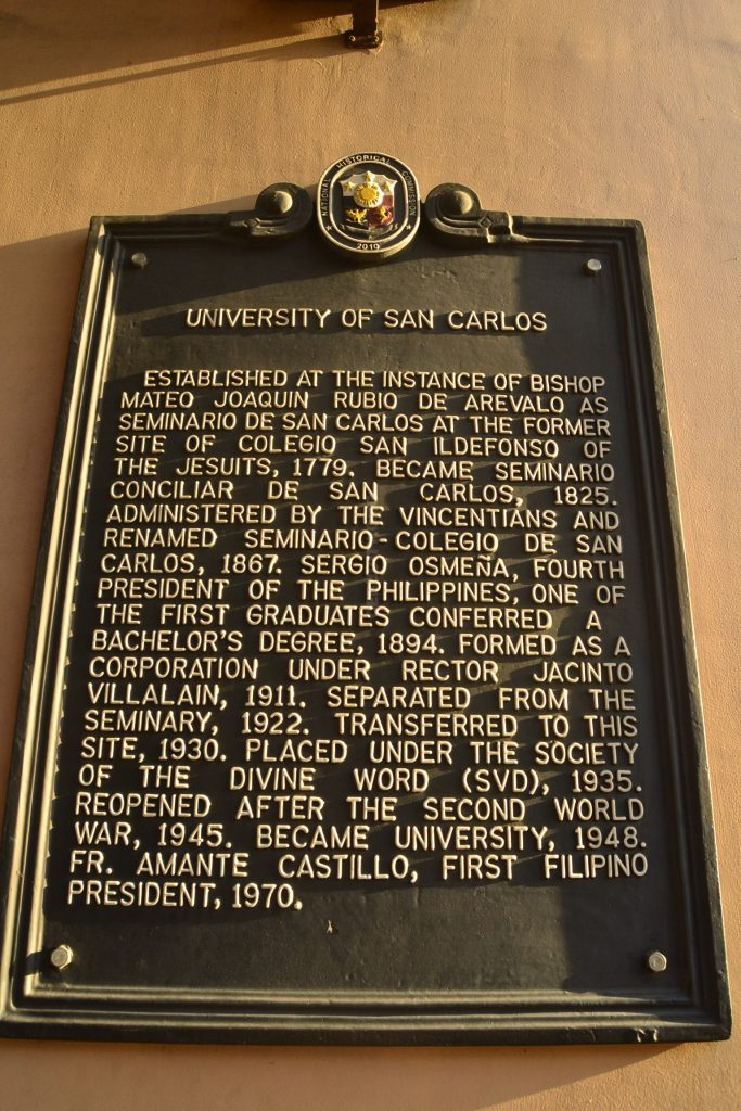 university of san carlos downtown main