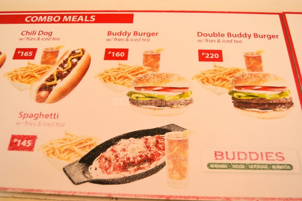 buddies burger cebu